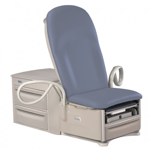 Brewer 6501 High-Low Exam Table with Power Back w/outlet, pelvic tilt & drawer warmer