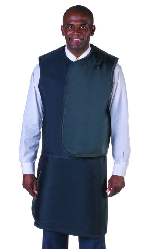 Men's Lead Free X-Ray Apron and X-Ray Vest with Thyroid Collar