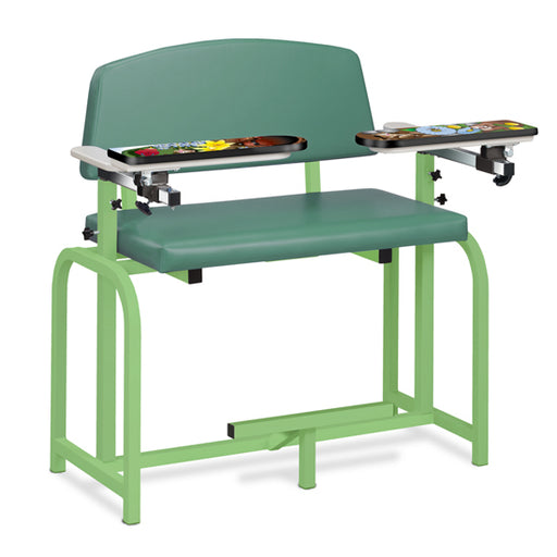 66099-SG Pediatric Series/Spring Garden, Extra-Wide, Blood Drawing Chair