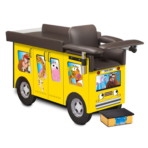 67020 Pediatric Series, Zoo Bus, Blood Drawing Station