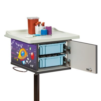 67235 Pediatric/Space Place Phlebotomy Cart