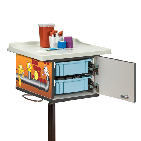 67237 Pediatric/Alley Cats and Dogs Phlebotomy Cart