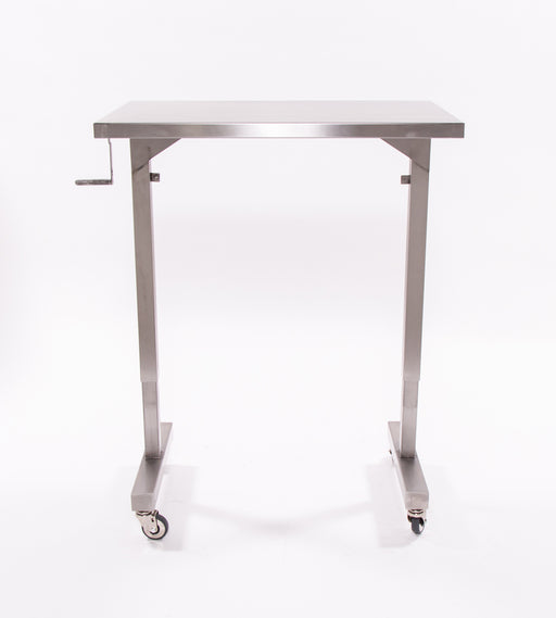 Blickman Adjustable Height Instrument Table-Blickman