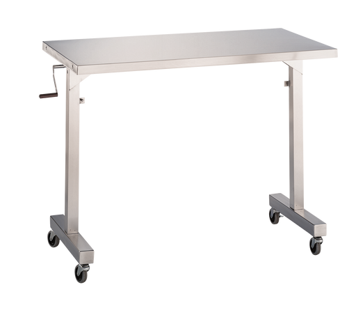 Blickman Adjustable Height Straddle Instrument Table-Blickman