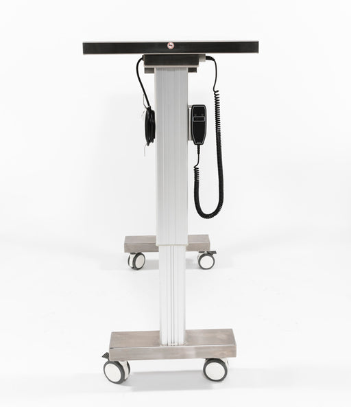 Blickman Motorized Straddle Adjustable-Height Instrument Table-Blickman