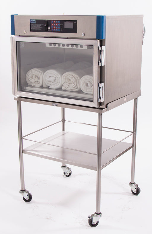 Mobile stand for table-top warming cabinets (Models 7922TG/TS 7925TG/TS 7927TG/TS) - Didage