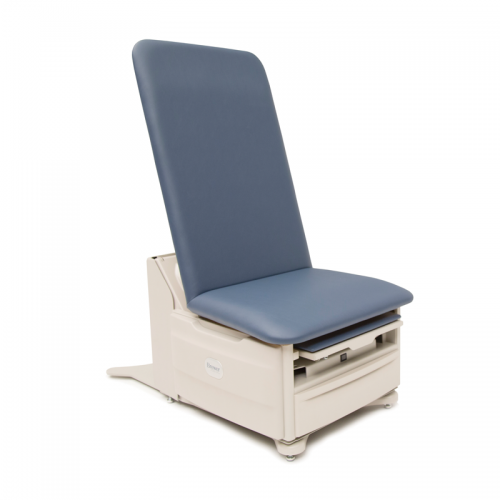 Brewer 5701 FLEX Access Exam Table with pneumatic back, pelvic tilt, front drawer heater and outlet