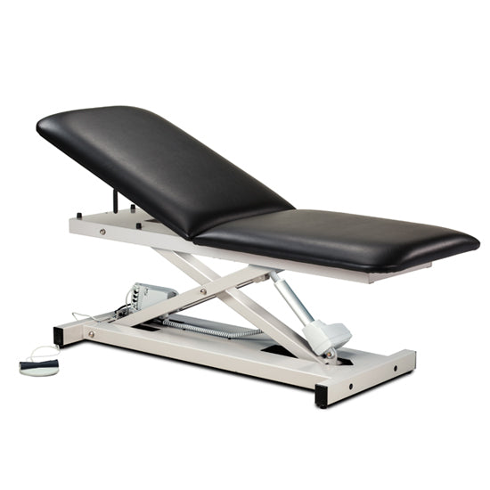 80200 Open Base Power Table with Adjustable Backrest