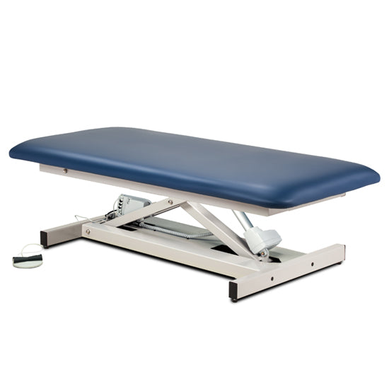 84100-34 (Bariatric) Open Base, Extra Wide, Bariatric, Straight Top Power Table