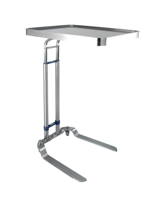 Benjamin Foot Operated Stainless Steel Mayo Stand - Didage