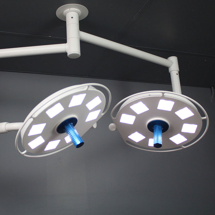 Galaxy 8×4 Dual Ceiling Mounted Surgical Light-StarTrol