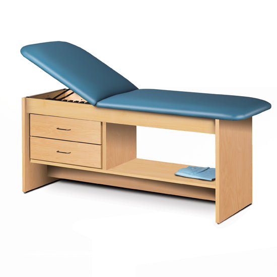 9013-30 Treatment Table with Drawers and Shelf