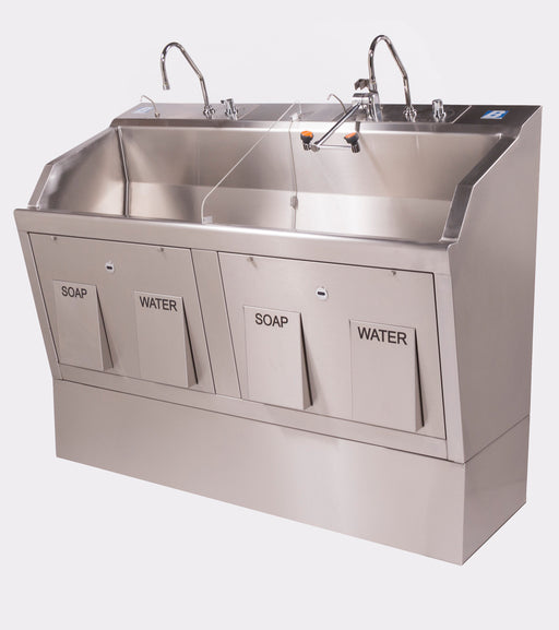Lodi Wall Mounted Scrub Sink - 9882SSW - Didage