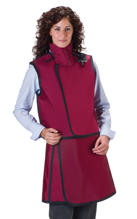 Women's Light Weight Lead X-Ray Apron and Vest