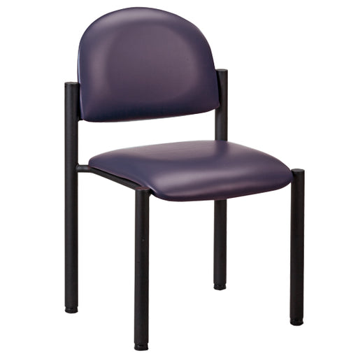 C-40B Black Frame Chair/No Arms