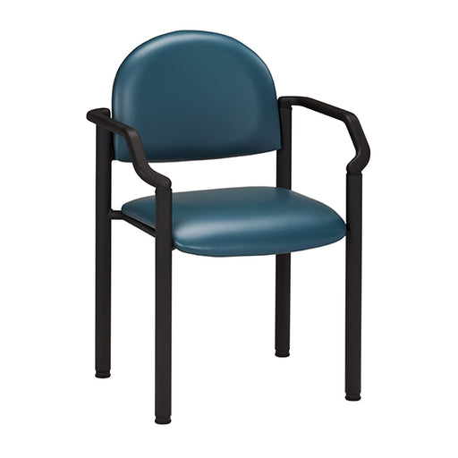 C-50B Black Frame Chair with Arms