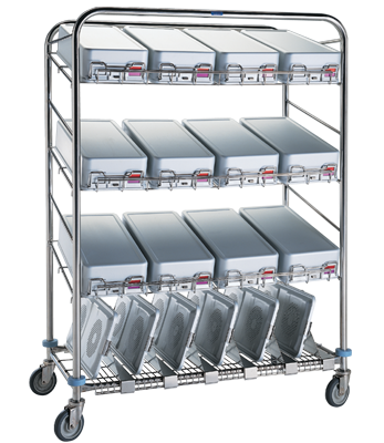 CDS-160 Instrument Container Wash Cart