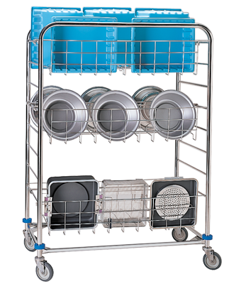 CDS-162 Sterile Processing Wash Cart
