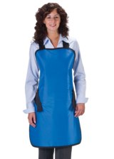Conventional Lead Free X-Ray Apron- blue