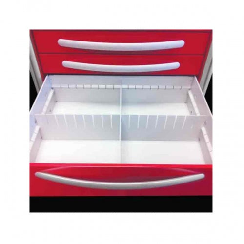 "Divider Kit for 6"", 9"" & 12″ Aluminum Unicart Drawers(DIV-AU6)-Waterloo Healthcare"