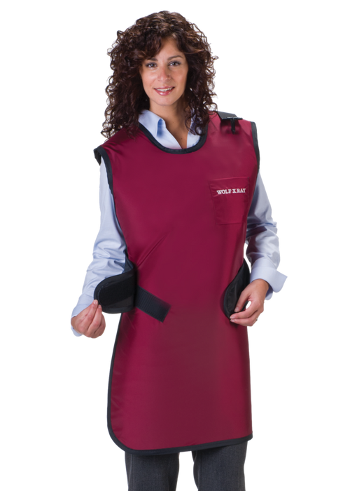 Easy Wrap Lead Free X-Ray Apron-Wolf X-ray