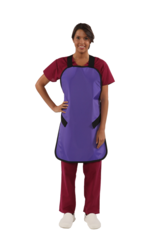 Conventional Lead X-Ray Apron with Regular Lead- purple
