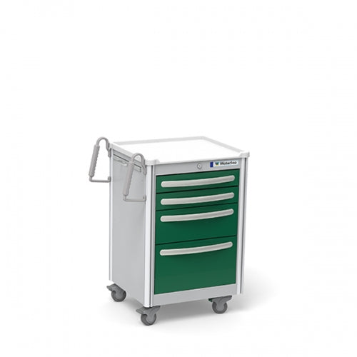 4-Drawer Junior SHORT (JSGKA-3369-FWG)-Waterloo Healthcare