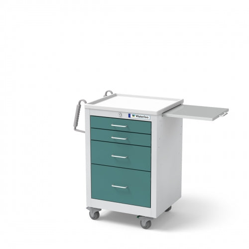 4-Drawer Junior Short (JSGKU-3369-TLG)-Waterloo Healthcare