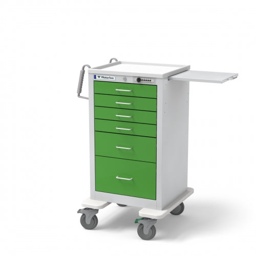 6-Drawer Junior Tall (JTGSU-333369-SPG)-Waterloo Healthcare