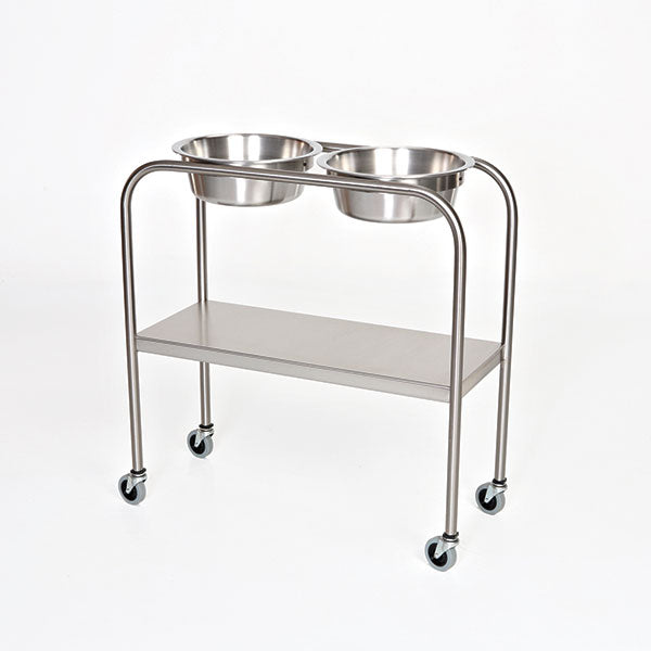 Double Bowl Solution Stands-MidCentral Medical