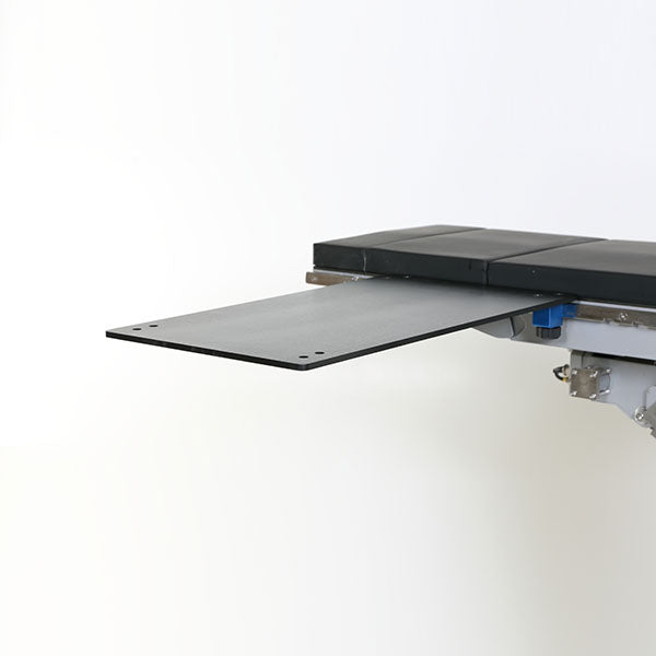 "Carbon Fiber Rectangle Arm and Hand Table with 2"" pad-MidCentral Medical"