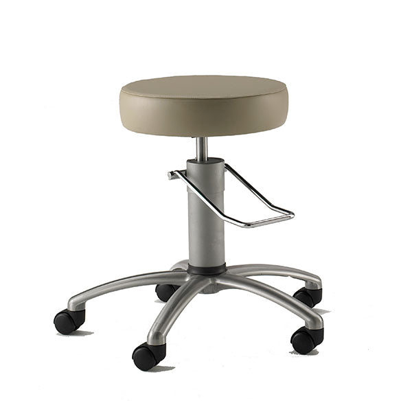 Surgical Seating Standard Height with Brushed Aluminum Base - Didage