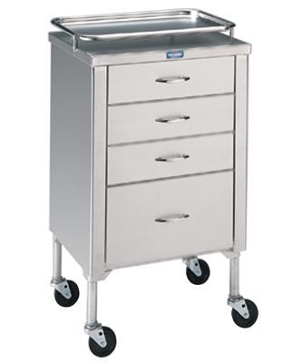 P-1105-SS Anesthetist Cabinet with Drawers