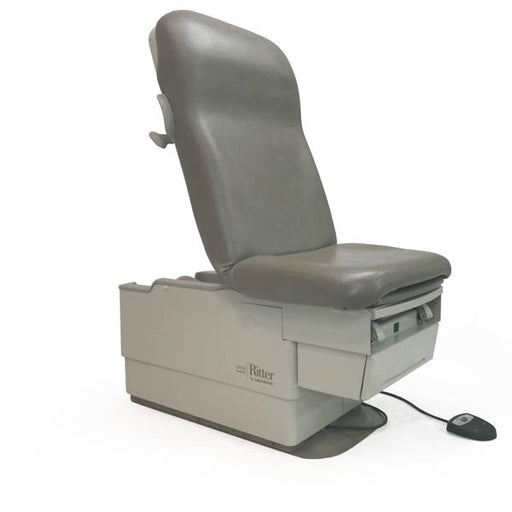 Midmark Ritter 222 Barrier Free Powered Exam Chair Refurbished