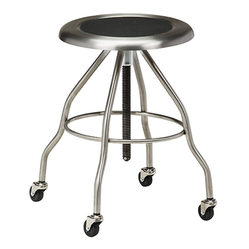 SS-2162 *Stainless Steel Stool with Casters