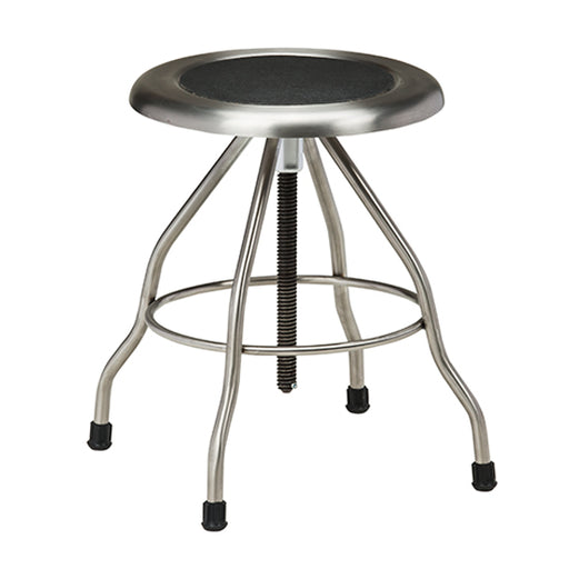 SS-2169 *Stainless Steel Stool with Rubber Feet