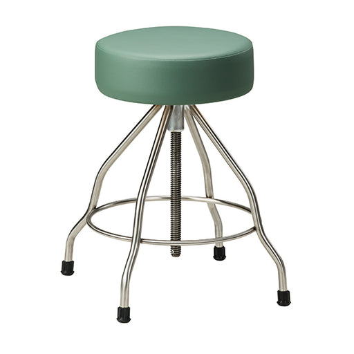SS-2179 *Stainless Steel Stool with Rubber Feet