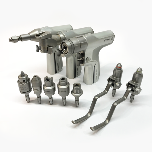 Stryker System 8 Surgical Power Tool Set top View