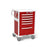 6-Drawer Tall Emergency Cart (UTRLA-333369-RED)-Waterloo Healthcare