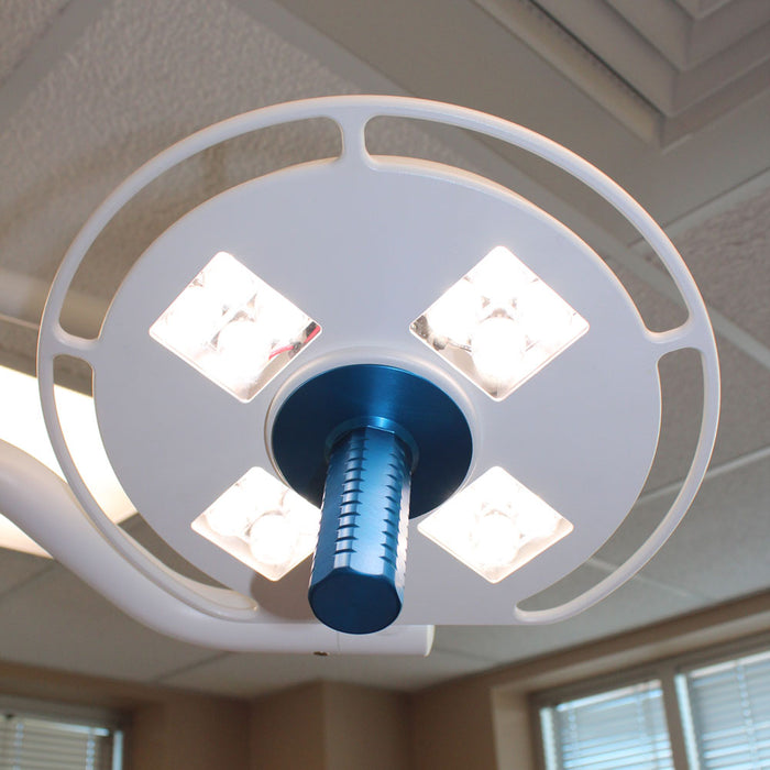 Galaxy 4×4 Single Ceiling Mounted Surgical Light-StarTrol