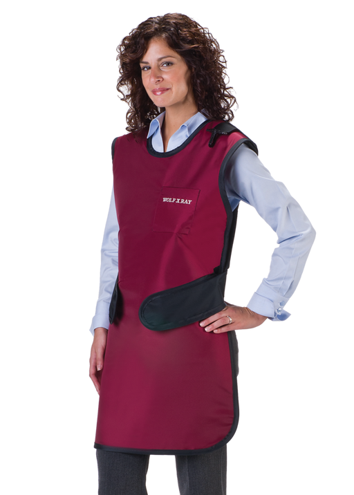 Easy Wrap Light Weight Lead X-Ray Apron with Thyroid Collar-Wolf X-ray