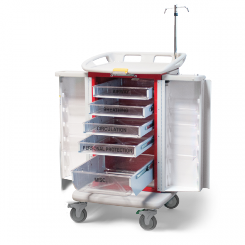 Emergency Crash Cart (ER2000)-Waterloo Healthcare