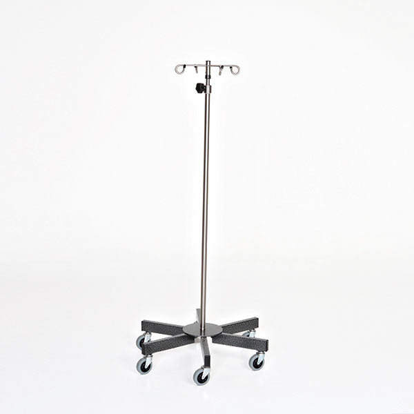 Chrome 6-leg IV Pole-MidCentral Medical
