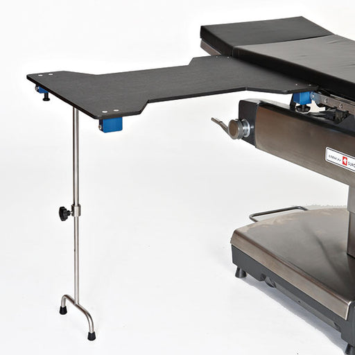 Hourglass Carbon Fiber Arm and Hand Table with Leg-MidCentral Medical