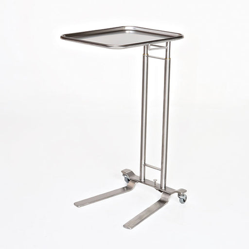 Stainless Steel Foot Control Mayo Stand - Didage