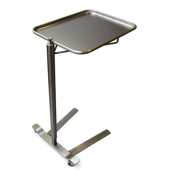 Stainless Steel Thumb Control Mayo Stand - Didage