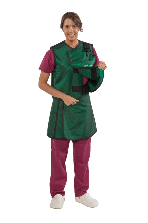 Woman's Lead X-Ray Apron and vest