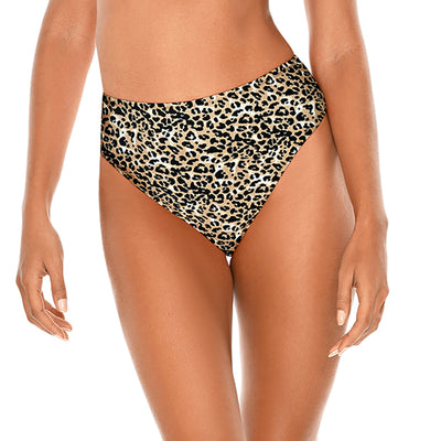 Bottom Tiro Alto Leopardo