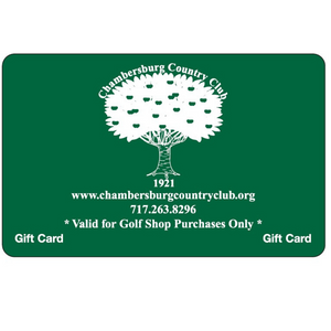 Chambersburg Country Club Golf Shop Gift Card