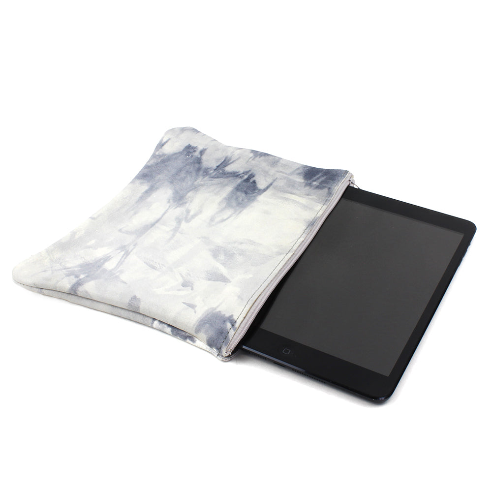 TIE DYE GREY SHOWN WITH IPAD MINI